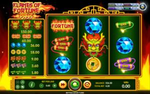 รีวิวเกมสล็อต Flames of Fortune