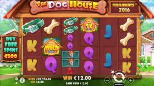 รีวิวเกมสล็อต The DogHouse